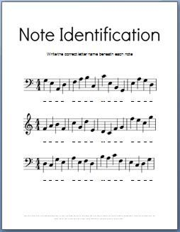 Music Theory Worksheets:The Ultimate Guide - 25 free ...