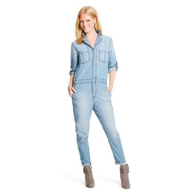 Women's Denim Jumpsuit - Mossimo®