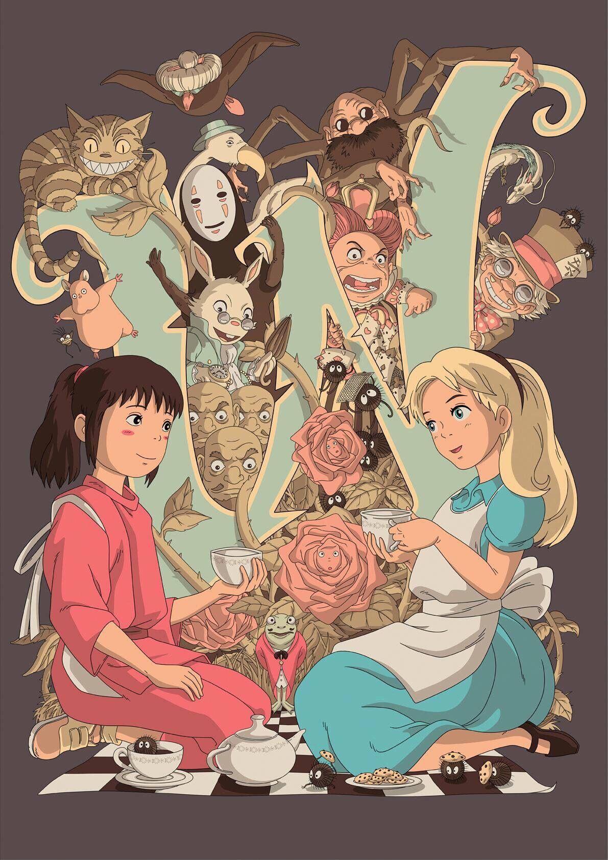 Pin de Melissa Molloy en Alice in wonderland (con imágenes