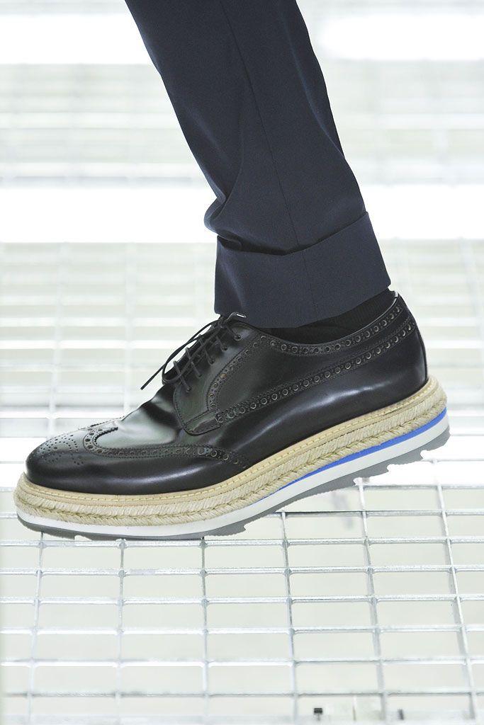 1741c9bfa5421 Nineties, Grunge vs. Glam | zpts | Prada spring, Prada shoes i Shoes