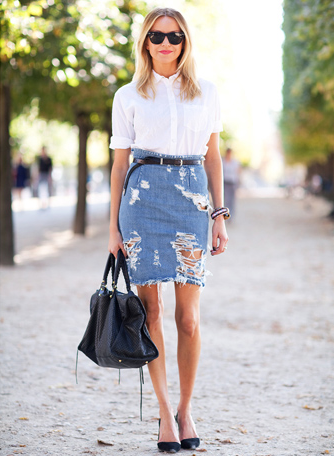 DENIM AND WHITE | Mark D. Sikes: Chic People, Glamorous Places ...