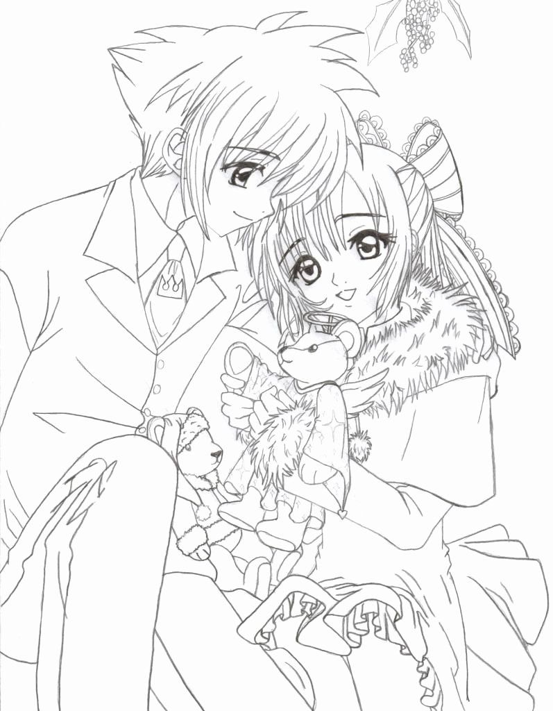 Printable Fashionable Design Cute Anime Coloring Pages To Print Girl Printable From Wonderful I Cute Coloring Pages Easy Cartoon Drawings Cartoon Girl Drawing [ 1073 x 744 Pixel ]