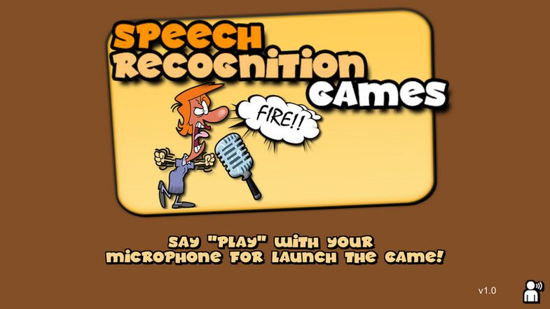 Speech Recognition Games Example #Recognition#Speech#Games