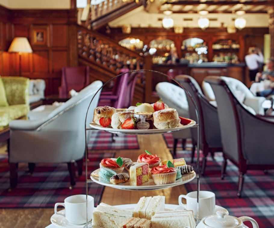 Greenwoods Hotel & Spa undoubtedly offers one of the best Traditional and Sparkling English Afternoon Tea experiences in Essex. Greenwoods Hotel & Spa, Stock, Chelmsford, Essex, England.