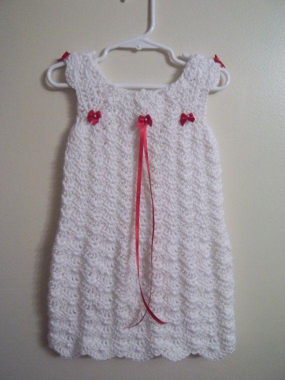 Crochet Pattern Angelique Blessing or Christening Dress
