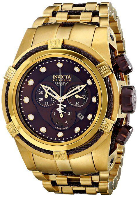 4ea9ee9e81d5 Invicta 12740 - Reloj para hombres color dorado