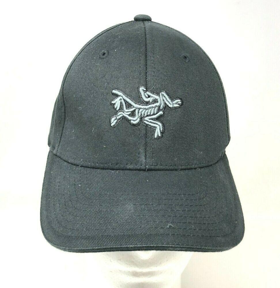 Arcteryx Logo Black Truckers Baseball Cap Hat One Size Fits Flexfit Elastic Arcteryx Baseballcap Casual Logo Black Caps Hats Baseball Cap