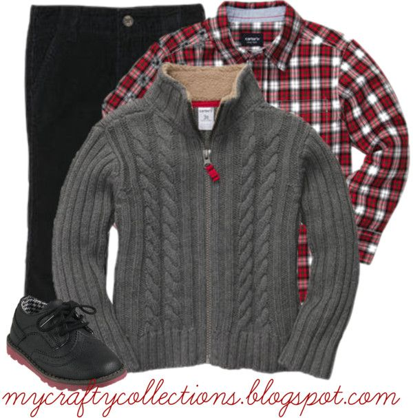 Boy's Holiday Outfit - Simple and cute holiday look. I ...