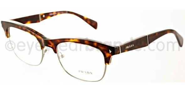 Prada PR 22OV Prada PR22OV 2AU101 Havana New Prada Eyeglasses   2013 Prada Glasses   Worldwide Delivery