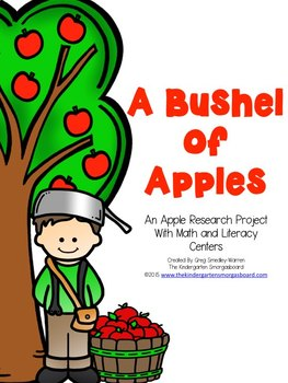 This apple research project is afun, hands on, engaging way tobring research and writing aboutapples into your classroom.Through whole group research,the use of graphic organizers andwriting activities, students willlearn all about apples and JohnnyAppleseed!