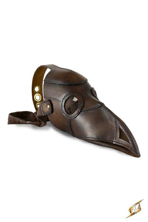 Nouveau produit : Masque en cuir végétal marron docteur corbeau oiseau steampunk Vous aimez ? / New product do you like ? Prix: 87.90 #new #nouveau #japanattitude #masques #steampunk #occulte #occult