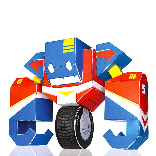 https://www.behance.net/gallery/13525491/Paper-Robots-Book