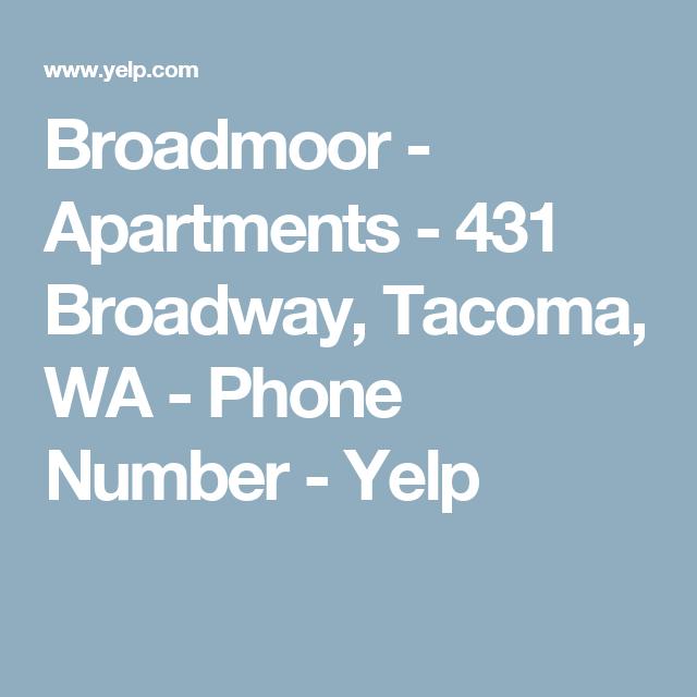 Broadmoor Apartments: 431 Broadway, Tacoma, WA