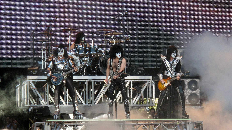 Kiss Band Logo 80s Glam Metal Heavy Metal 70s Glam Hard Rock