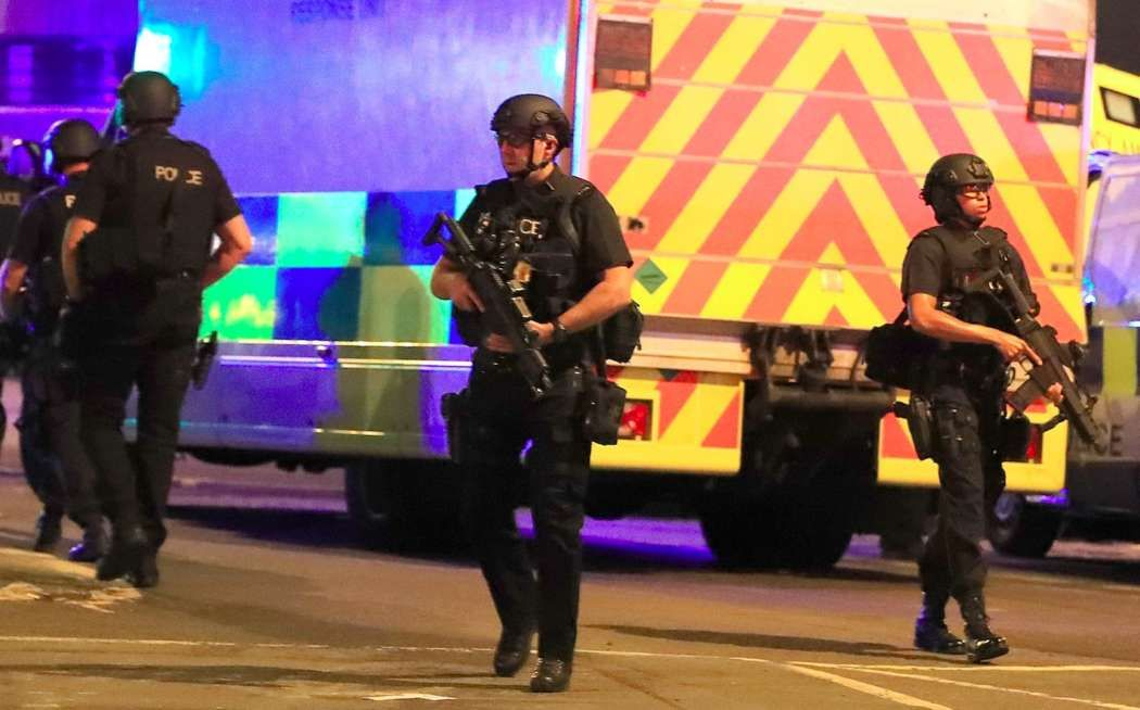 Ariana Grande's Concert Ended Abruptly After Explosions - 19 People Are Dead And 50 Are Injured #ArianaGrande celebrityinsider.org #Music #celebritynews #celebrityinsider #celebrities #celebrity #musicnews