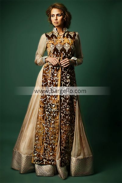 Latest designer dresses collection with rich embroidery by for New zealand wedding dress designers