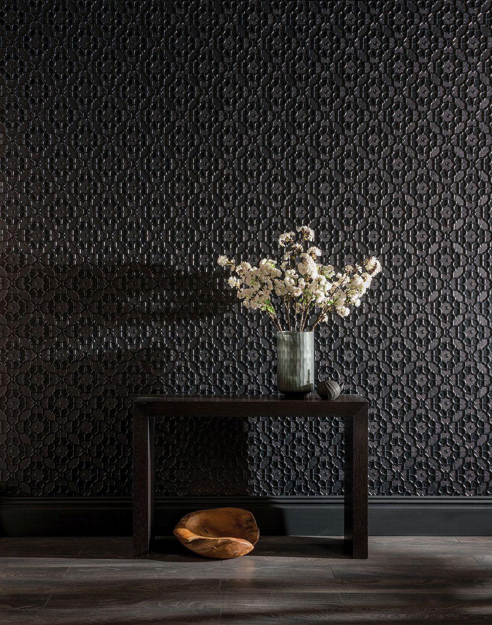 Elizabeth By Lincrusta Paintable Wallpaper Wallpaper Direct Paintable Wallpaper Feature Wall Wallpaper Black Wallpaper Living Room