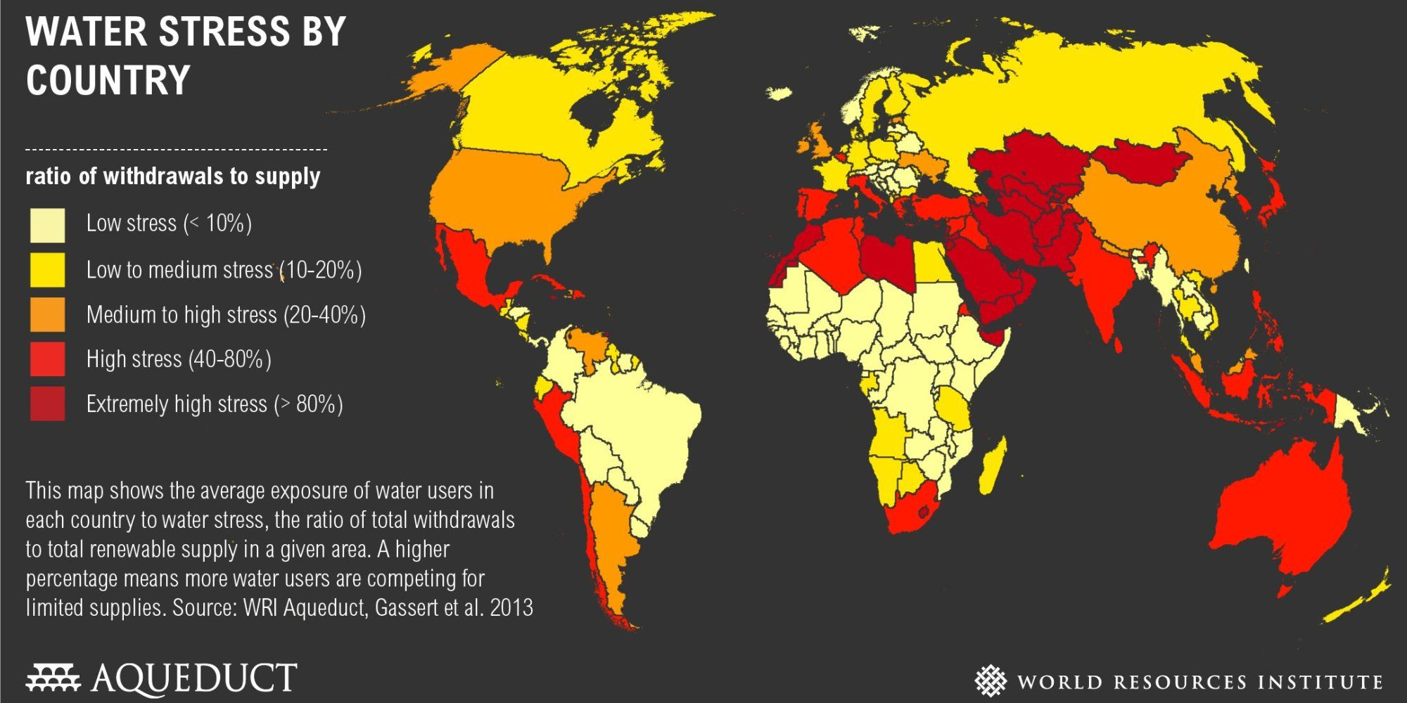These are the most water stressed countries in the world these are the most water stressed countries in the world gumiabroncs Image collections