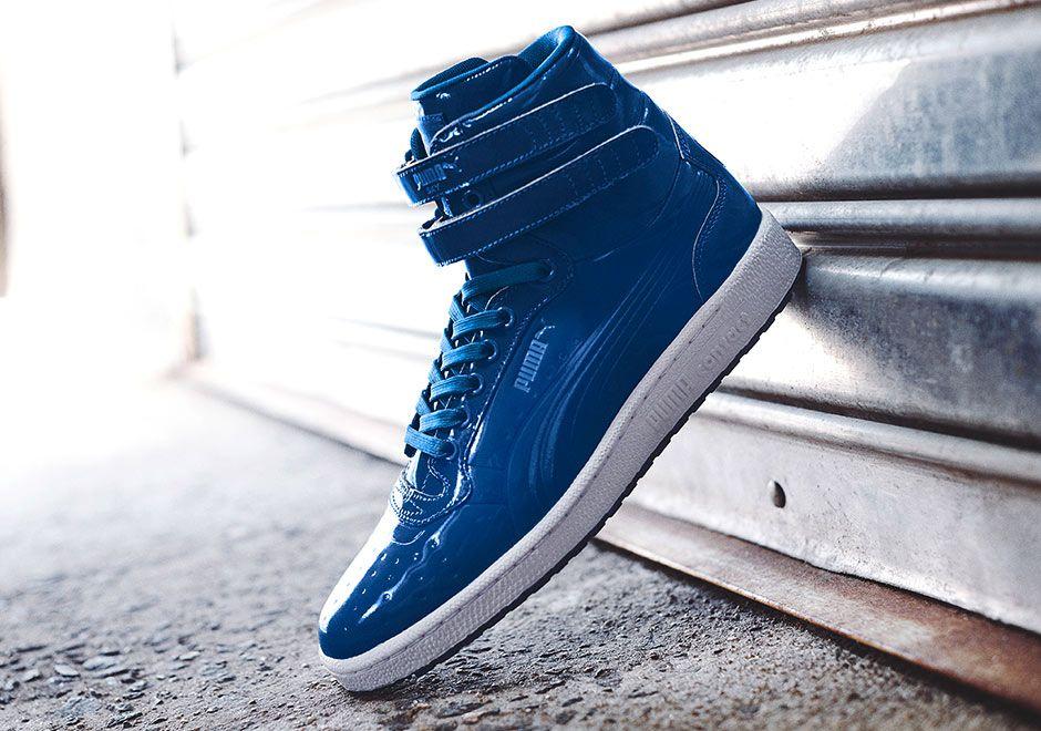 Puma Sky II High 'Patent Pack': Blue