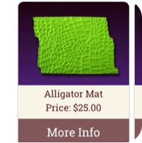 Impression Mats Made from Silicone for Cakes, Crafts and More from CC Magazine #stream