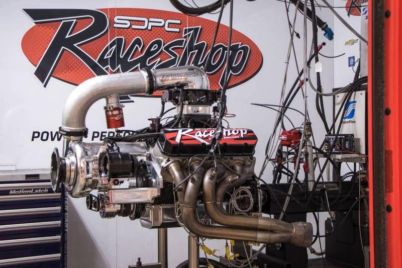 SDPC Raceshop 540ci F-1X-12 Procharged BBC Crate Engine