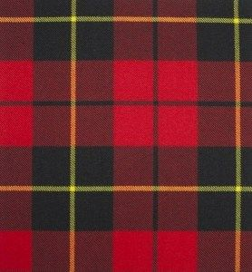 Wallace Red Modern Tartan. Strome Heavy Weight Fabric from Lochcarron of Scotland, sold by the metre. 500-515gm per linear metre 138 cm wide. . . Sold by TartanPlusTweed.com A family owned kilt and gift shop in the Scottish Borders