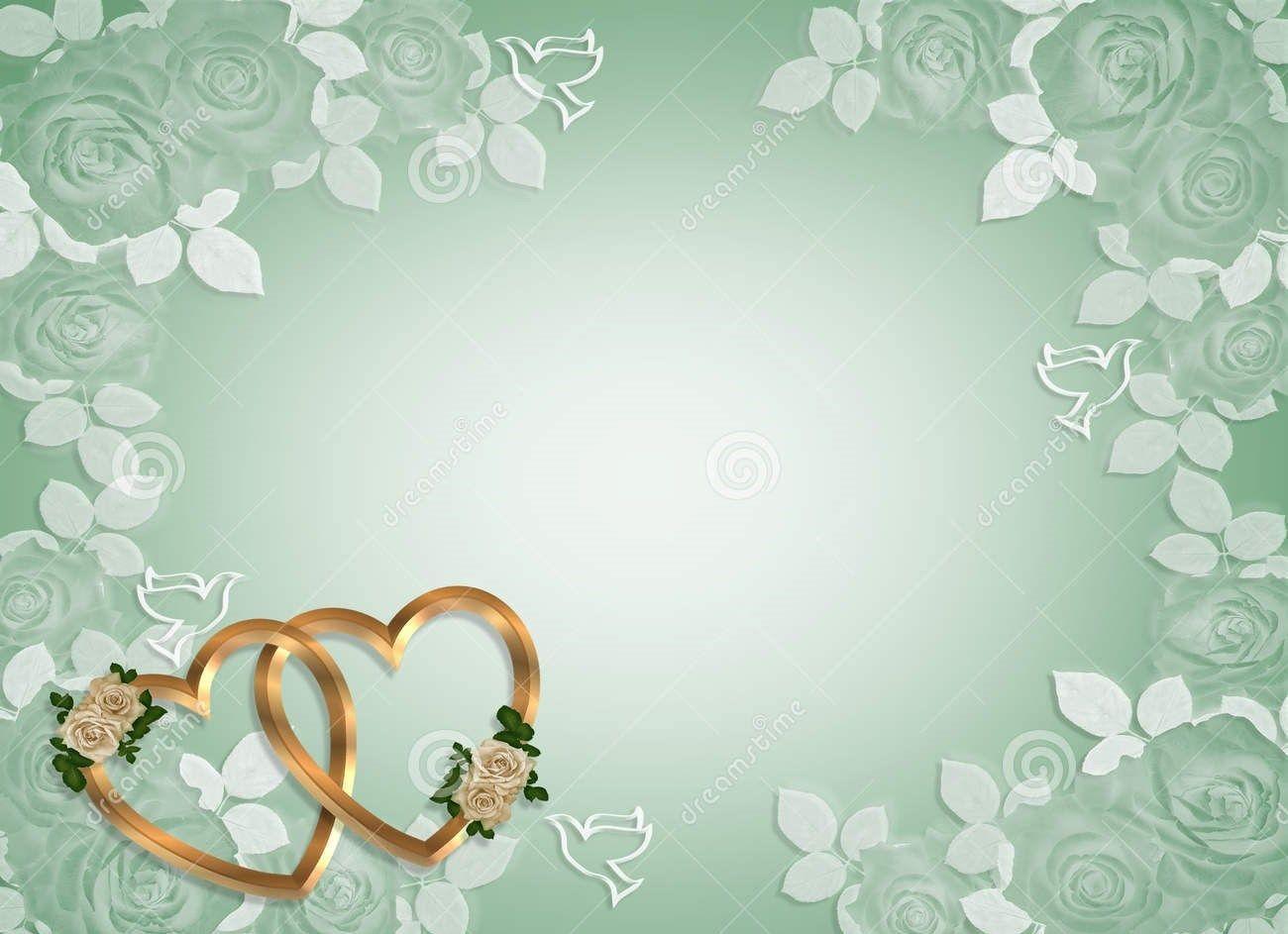 Wedding Invitation Design Templates Free Blank