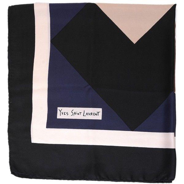Vintage silk scarf | YSL