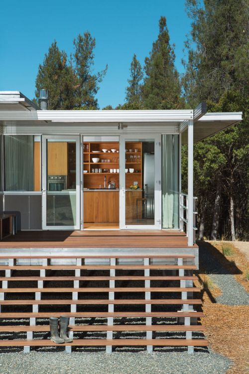 Clearlake It Cabin Taalman Koch Architects This 800 Sq Ft Project