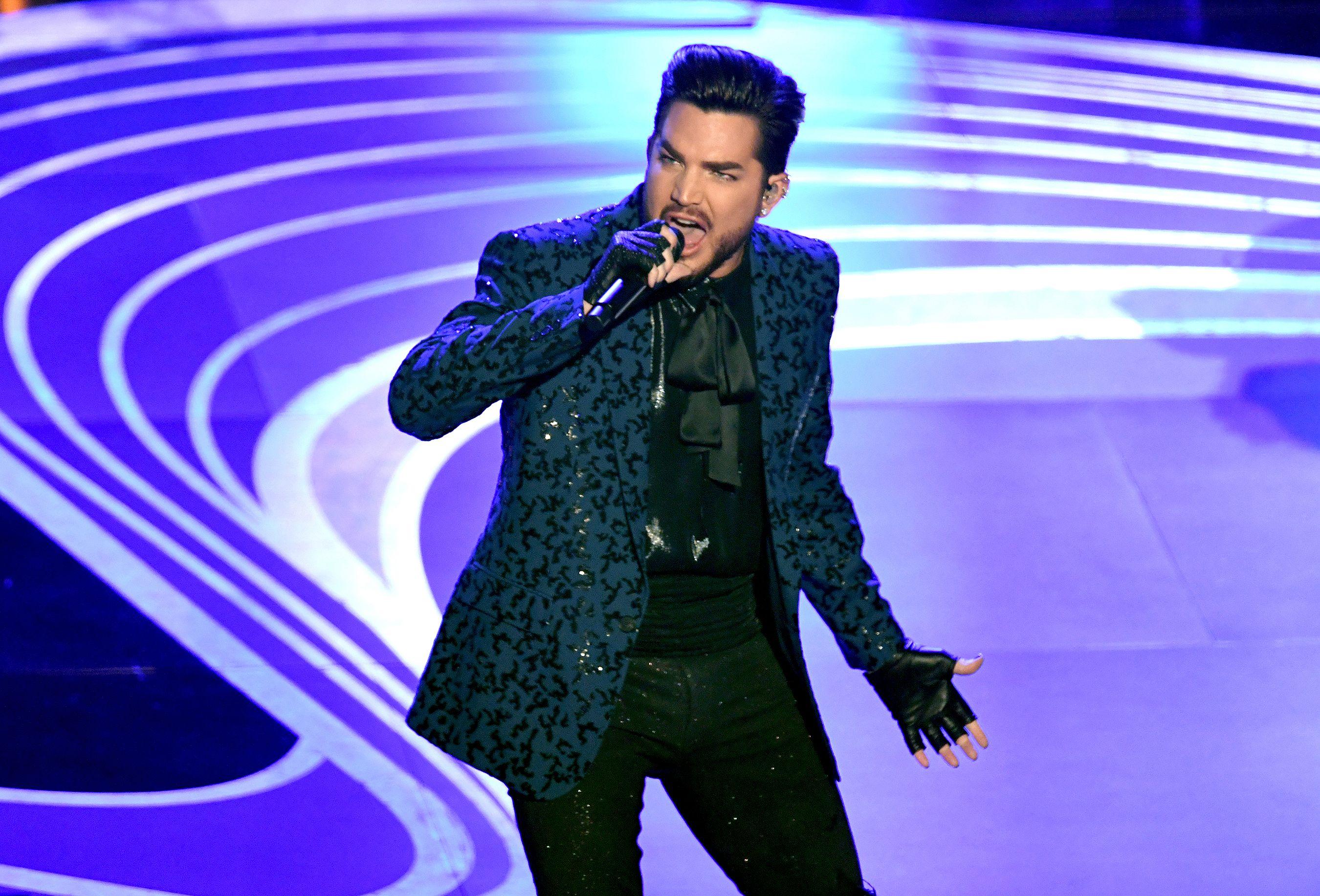 Queen And Adam Lambert Rock Out To A Standing Ovation At The 2019 Oscars Adam Lambert Hollywood California Concert