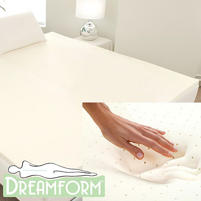 Get a good nights rest with this soft, memory-foam ...
