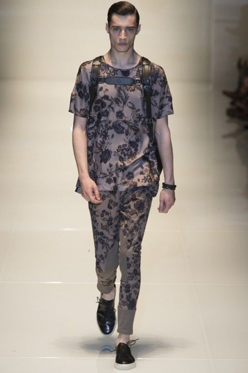 Fashion trends:Gucci Spring-Summer 2014 Menswear
