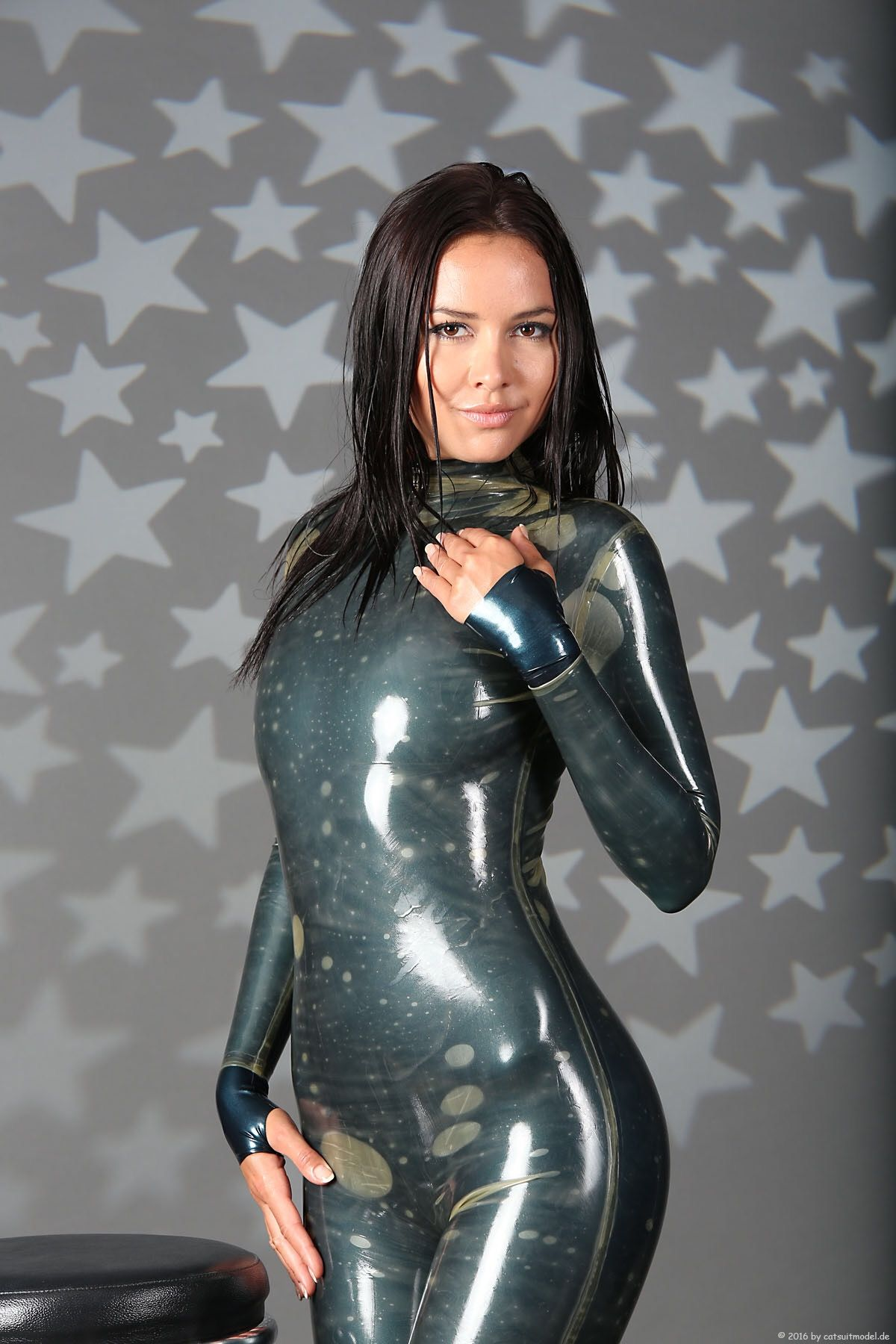 Latex Pvc Rubber Catsuit - Free Porn