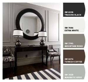 possible paint colors - dining room? Paint colors from Chip It! by Sherwin-Williams by patricé