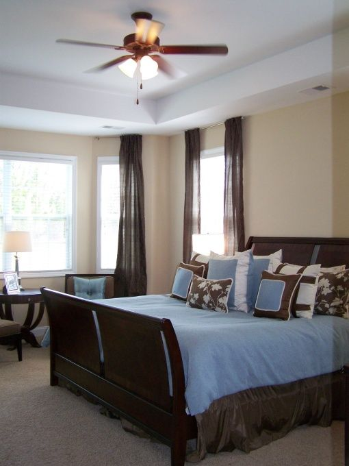 Blue And Brown Master Bedroom Inspiration Ideas 1896 Decorating
