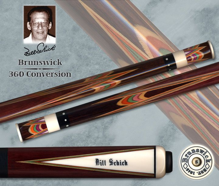 Bill Schick Conversion of a Brunswick 360 Cue. Chris ...
