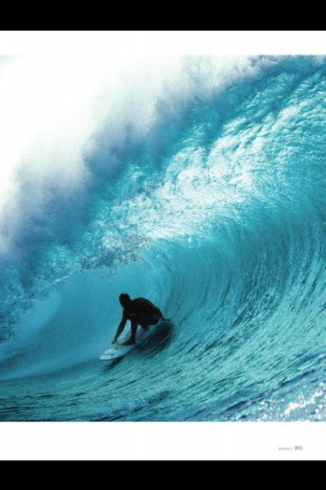 Big wave barrel