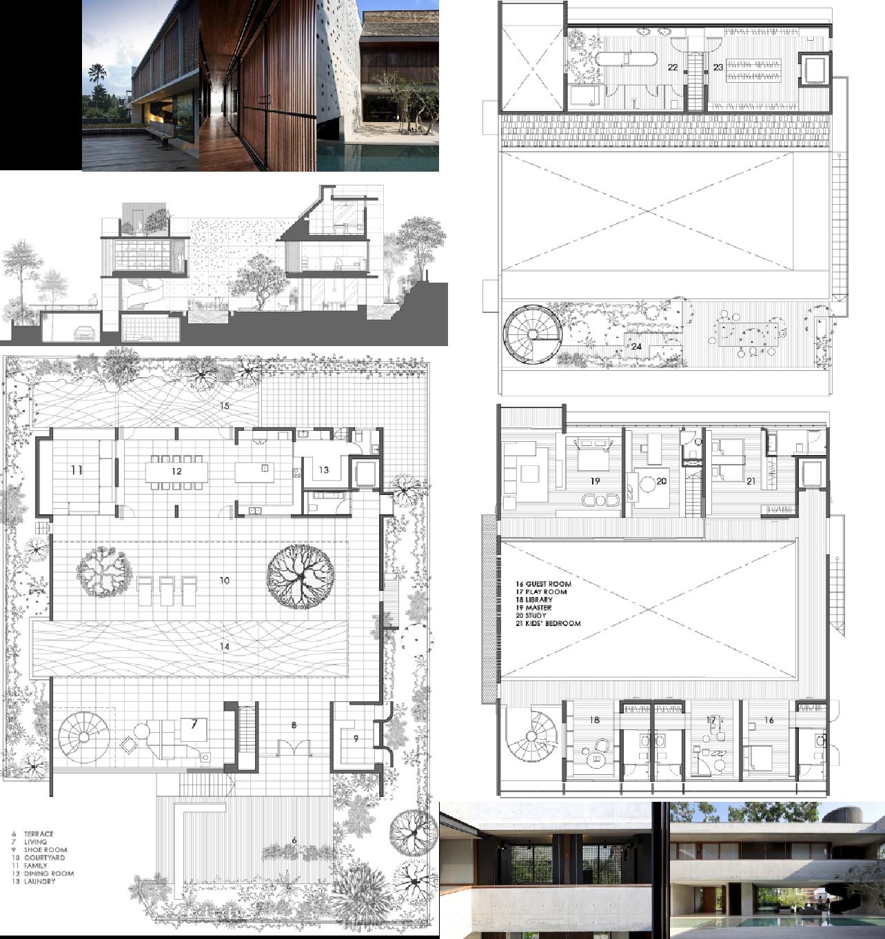 Courtyard House By Formwerkz Architects Singapore Courtyard House House Plans Floor Plans