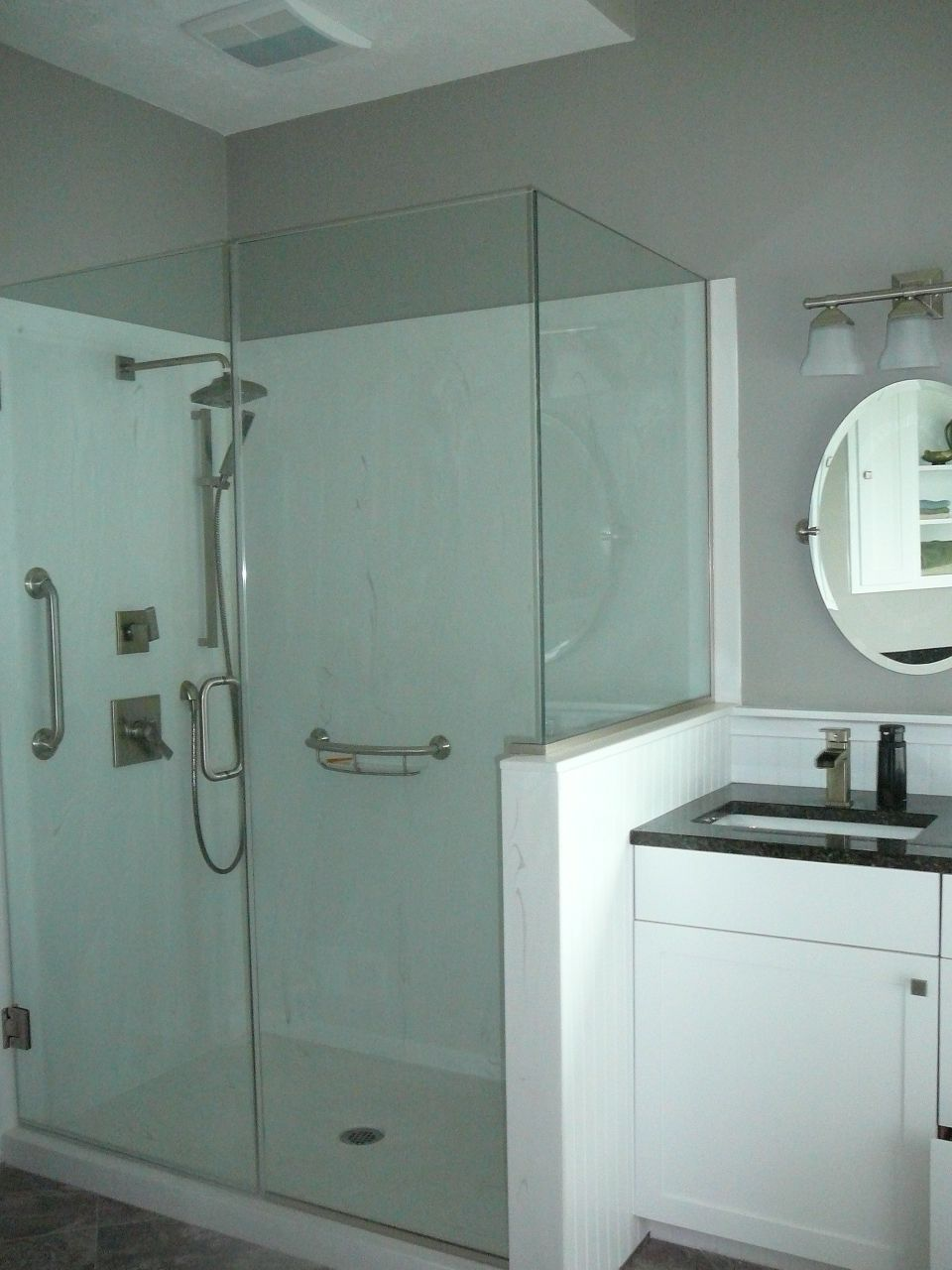 We just redid our bathroom...to make it more user-friendly (handicap ...