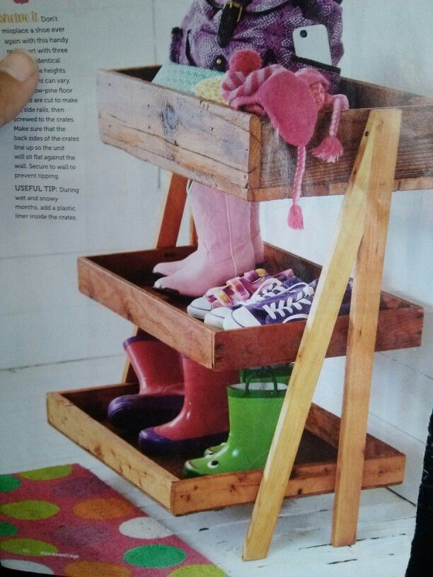 Shoe Rack By Front Door
