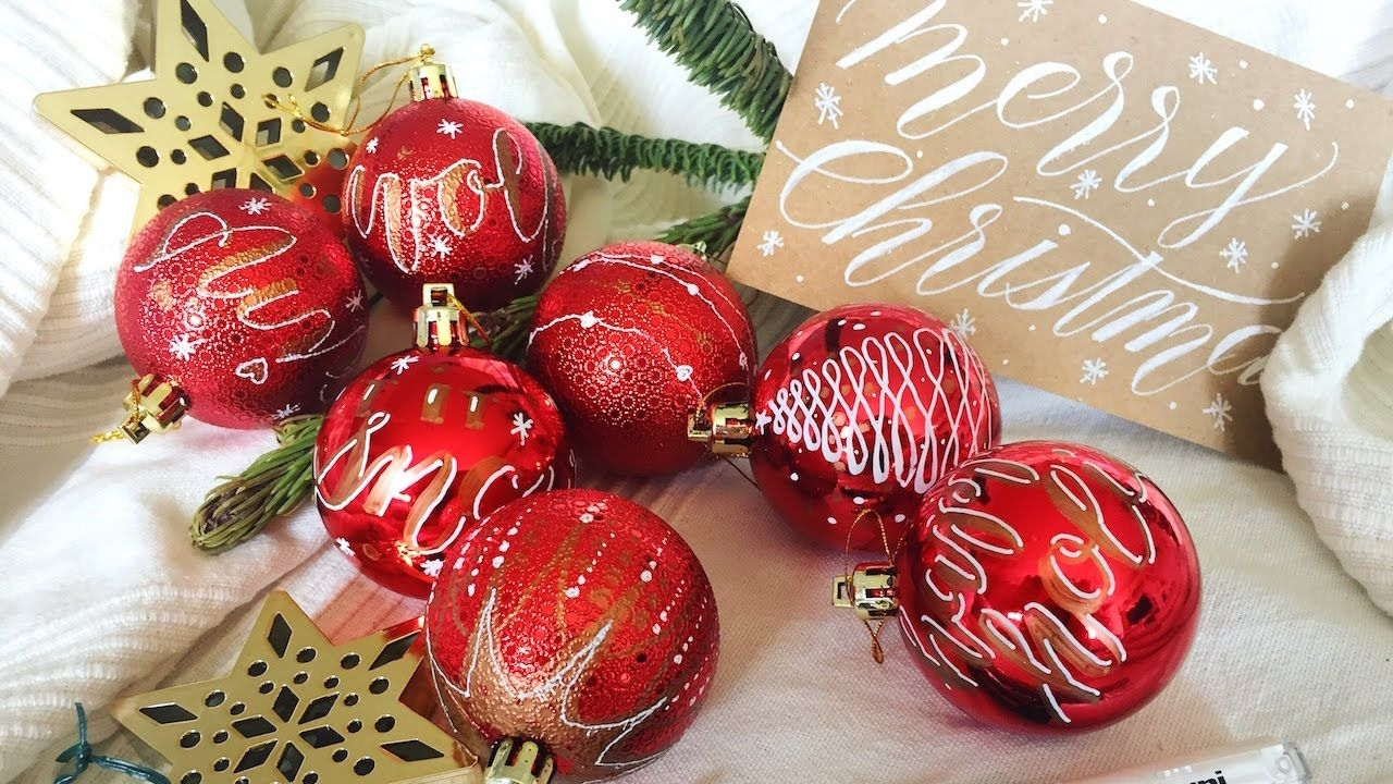 DIY Christmas Ornaments Decoration with Markers - YouTube | More ...