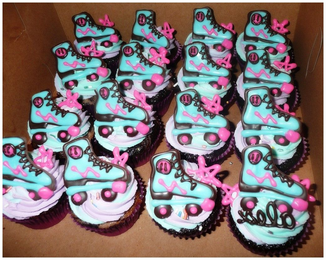 Roller Skate Cakes Decorating Ideas Baking Treats