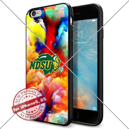 WADE CASE North Dakota State Bison Logo NCAA Cool Apple iPhone6 6S Case #1391 Black Smartphone Case Cover Collector TPU Rubber [Colorful] WADE CASE http://www.amazon.com/dp/B017J7NY4K/ref=cm_sw_r_pi_dp_8eltwb1XXG45V