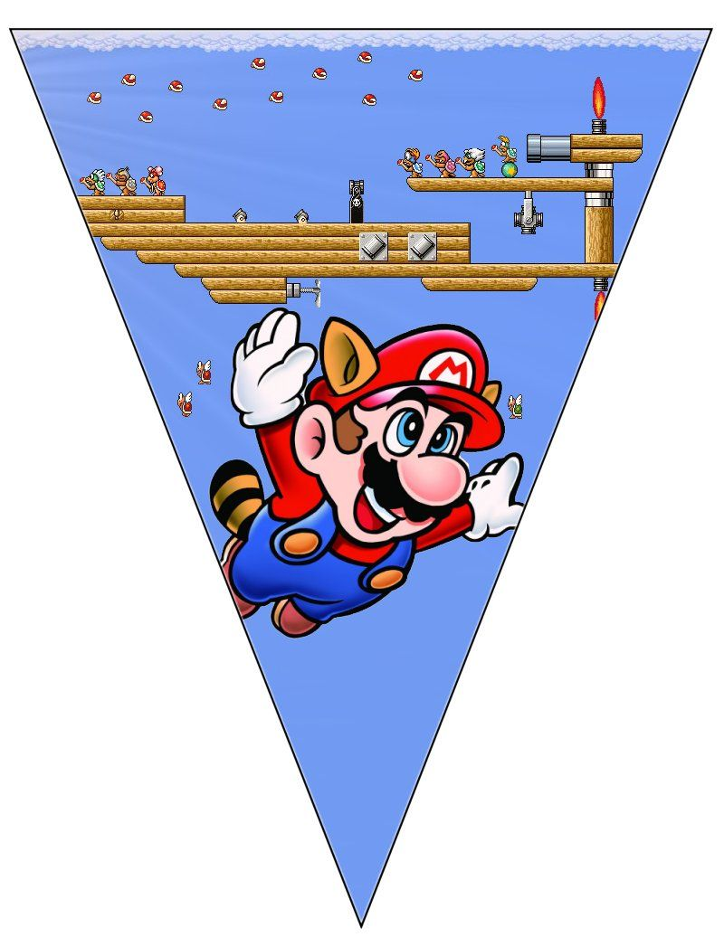 large printable super mario banner free to use free to rh pinterest com