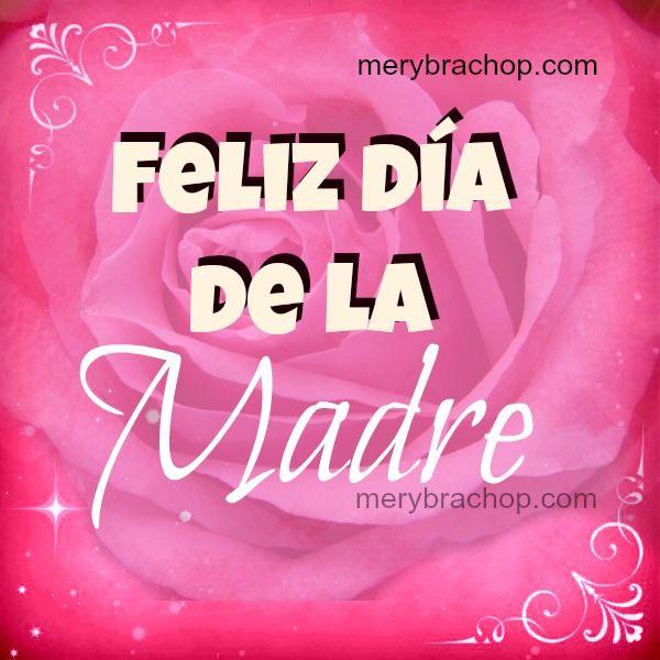 Frases Cristianas De Feliz Día Madre Bonitos Mensajes