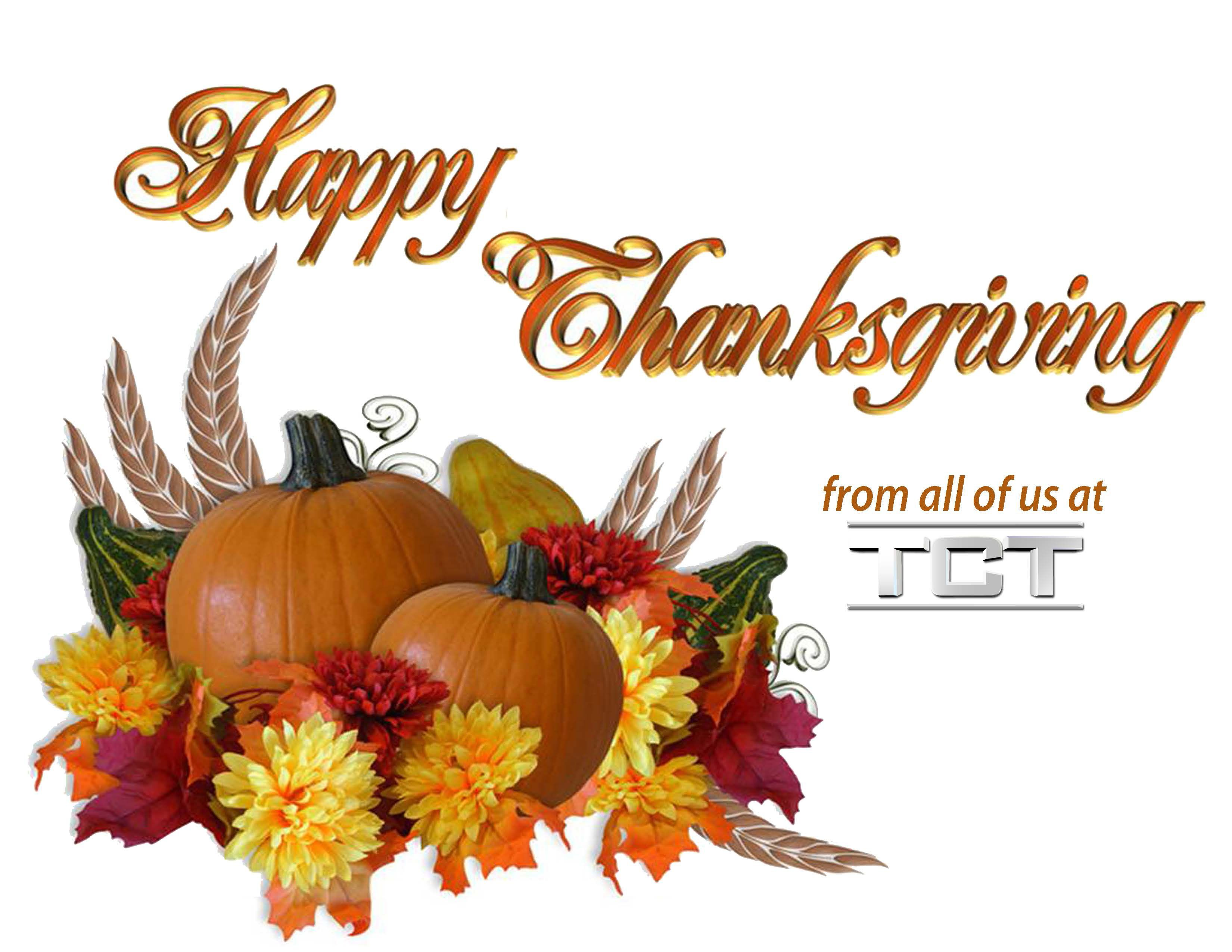 Happy Thanksgiving from all of us at the TCT Network 11