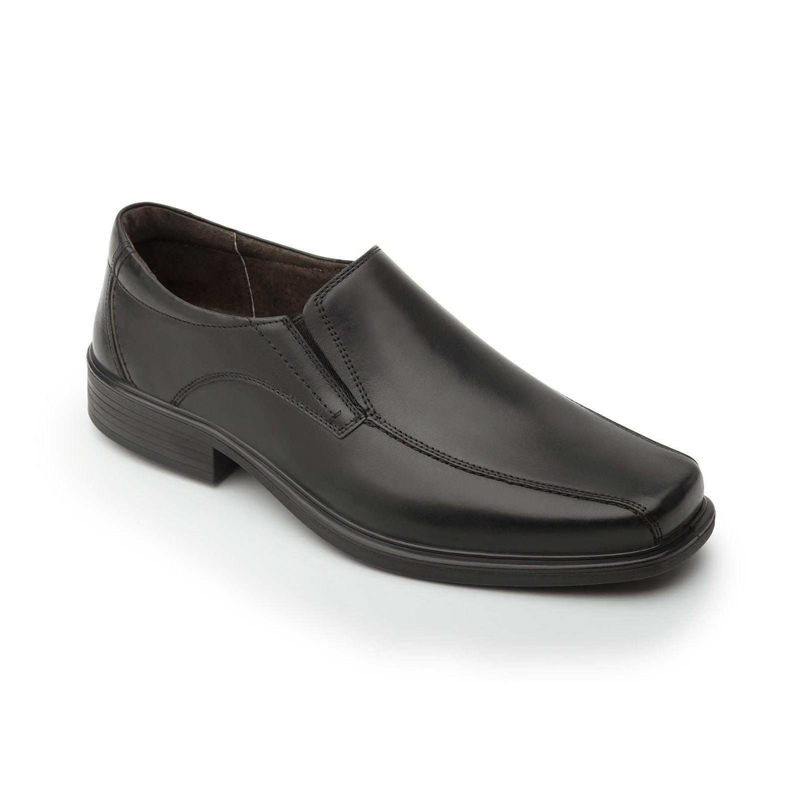 Offre Spéciale - Chaussures À Lacets En Cuir Noir Dos À L'homme Noir, Couleur Noir, Taille 42.5