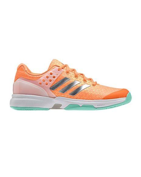 941827f7e0e1 Zapatillas mujer adidas adizero ubersonic 2 naranja plateado azul ...
