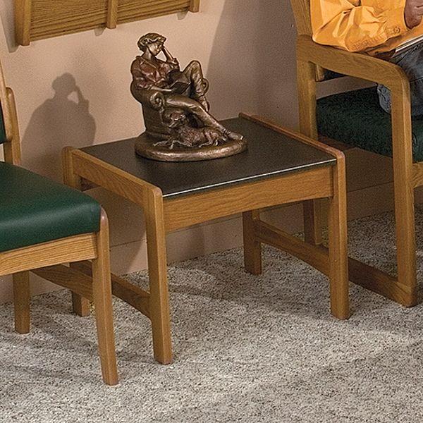 Demco.com   Wooden Mallet Dakota Wave Reception Furniture Tables