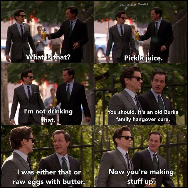 White Collar Quotes On Instagram 04x11 Family Business Neal Hungover Rip To The Great Alan Rick White Collar Quotes White Collar Matt Bomer White Collar